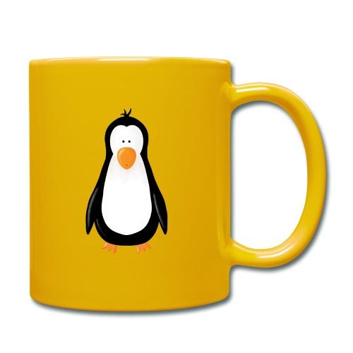 Pinguin Fridolin - Tasse einfarbig