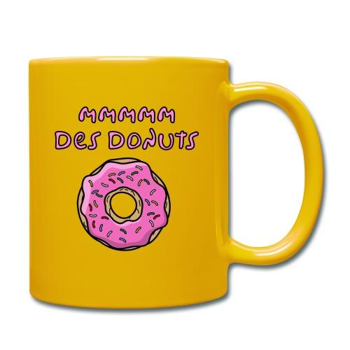 mm des donuts - Mug uni