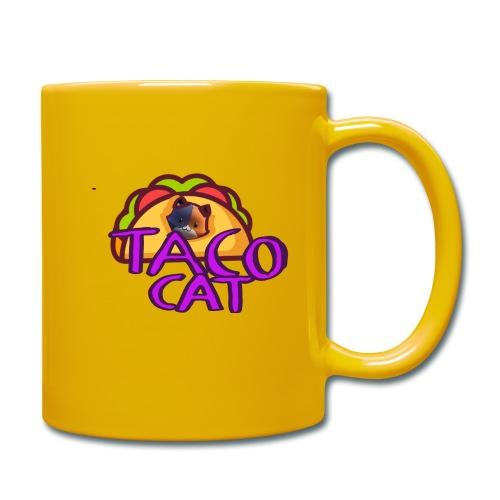 TACO CAT - Enfärgad mugg