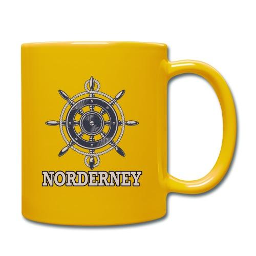 Norderney - Tasse einfarbig