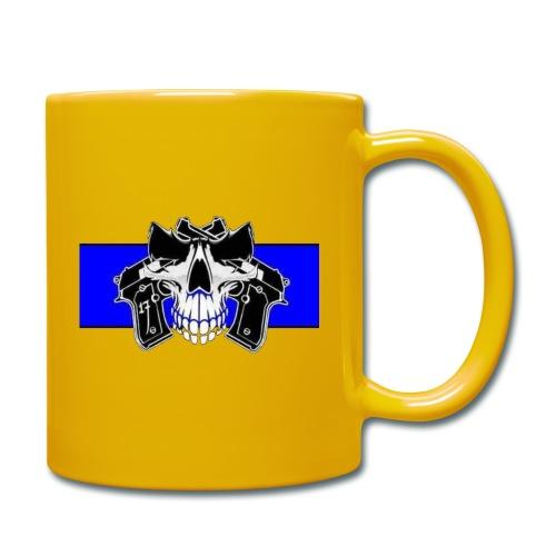 skull full - Taza de un color