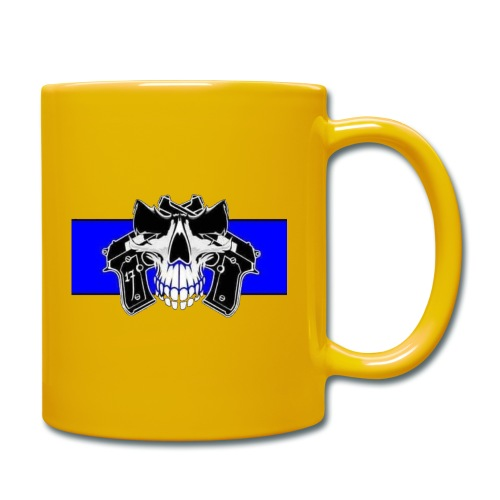 skull full - Taza de un color