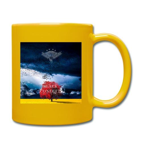Black Confetti Promo Design - Full Colour Mug