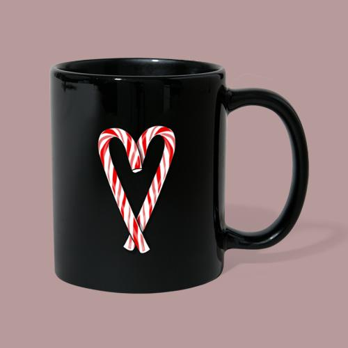 Sucre d'orge en forme de coeur - Mug uni