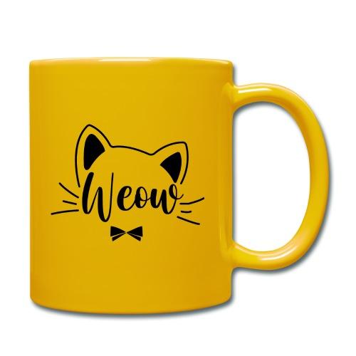 meow - Taza de un color