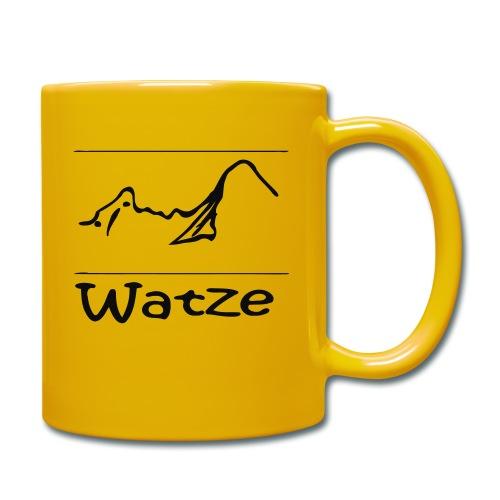 Watze - Tasse einfarbig