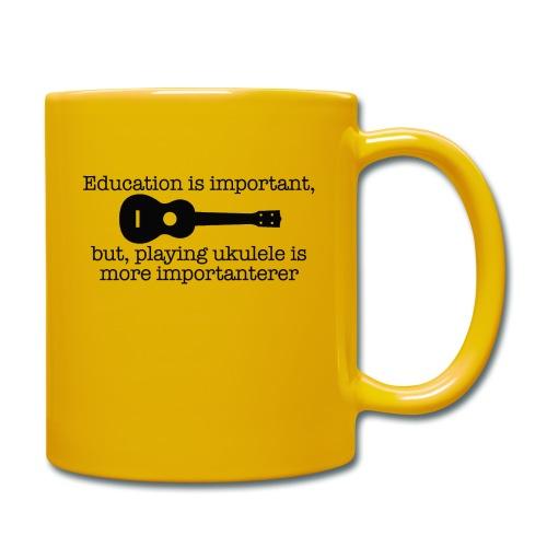 Important Ukulele - Full Colour Mug