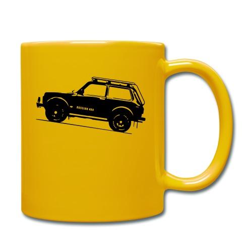 Lada Niva 2121 Russin 4x4 - Tasse einfarbig
