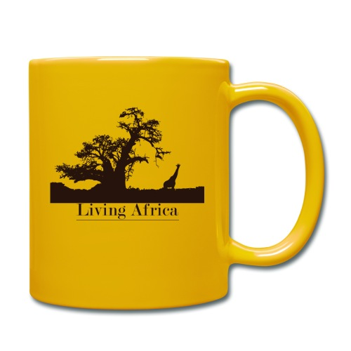Ultimate_Living_Africa-png - Tazza monocolore