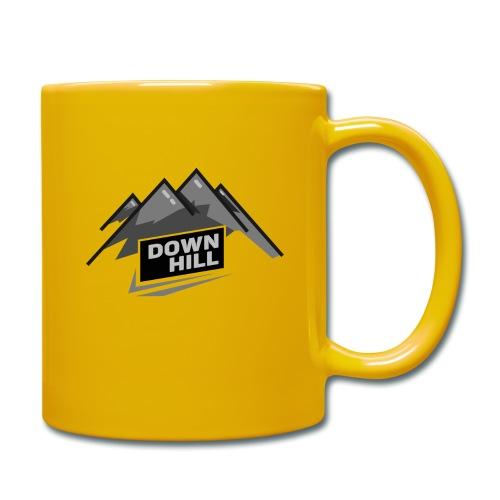 Downhill - Tasse einfarbig