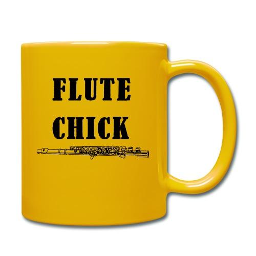 Flute Chick - Ensfarget kopp