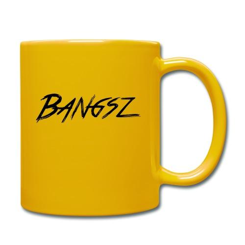 Bangsz T-shirt - Black print - Mok uni