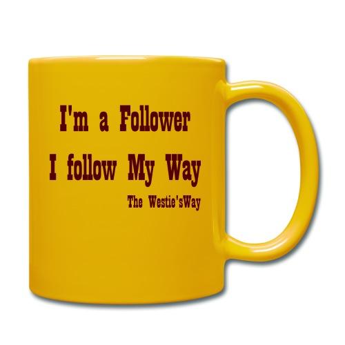 I follow My Way Brown - Kubek jednokolorowy