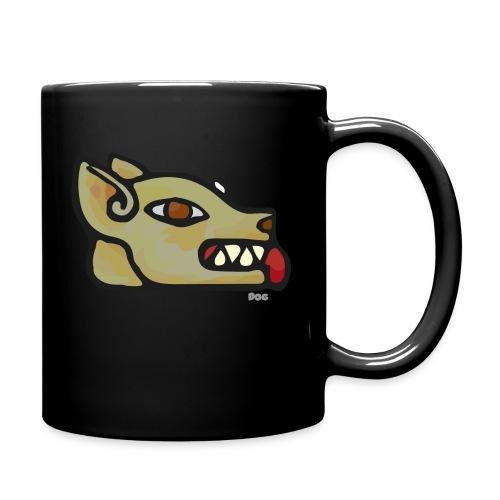 Aztec Icon Dog - Full Colour Mug