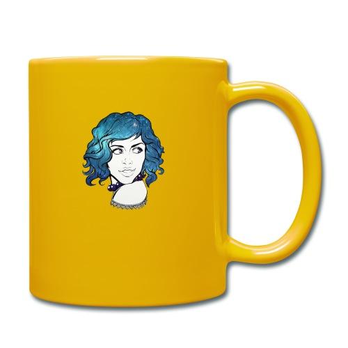 Portrait galaxie bleu - Mug uni