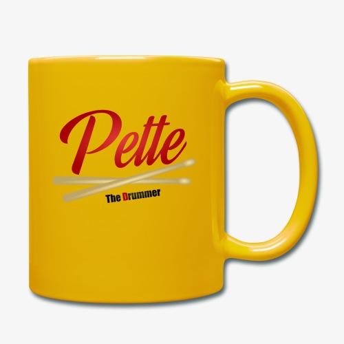 Pette the Drummer - Full Colour Mug