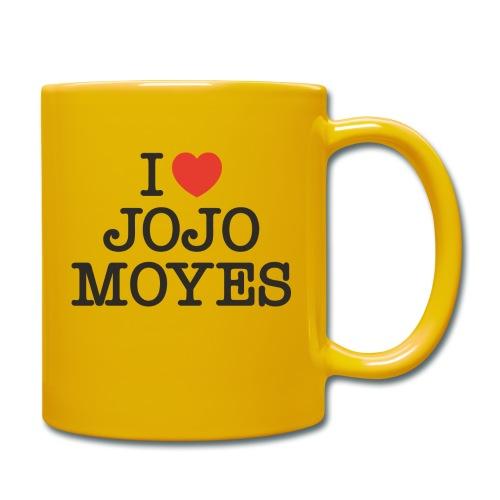 I LOVE JOJO MOYES - Ensfarvet krus