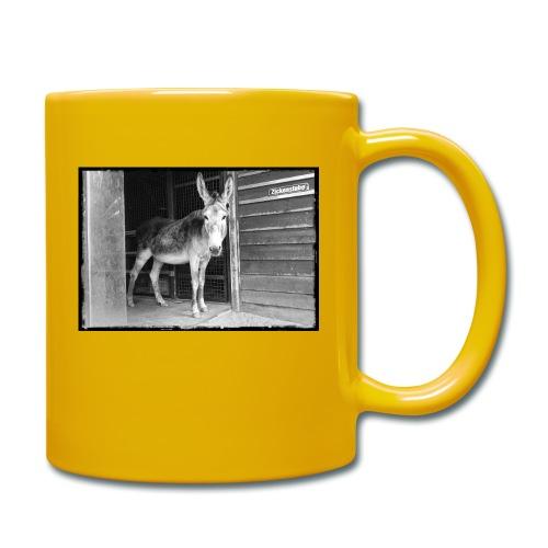 Zickenstube Esel - Tasse einfarbig