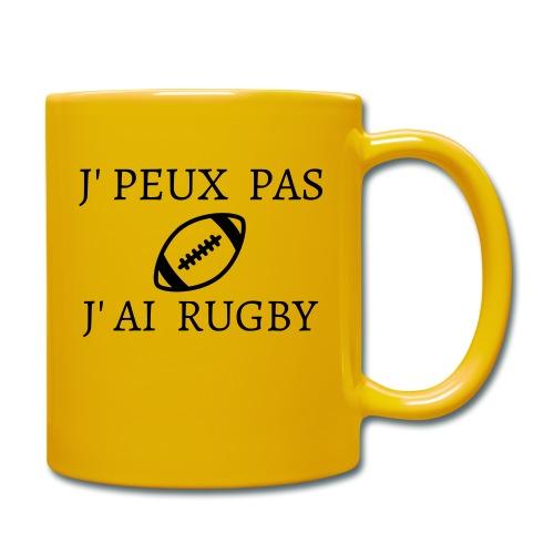 J'peux pas J'ai rugby - Mug uni