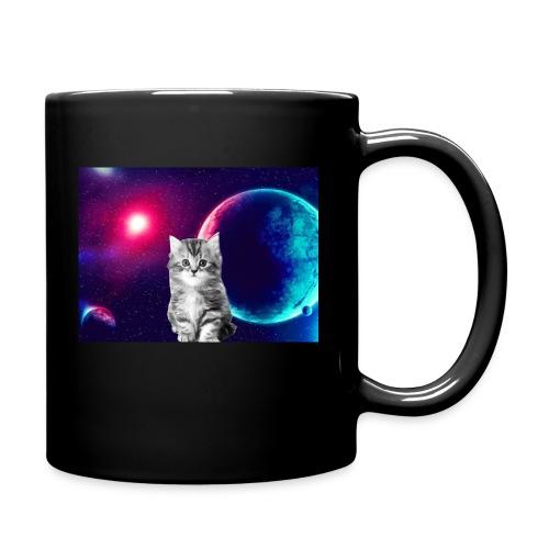 Cute cat in space - Yksivärinen muki