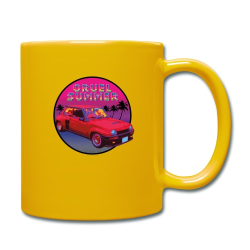 R5 Turbo vintage - Cruel Summer. Bananarama - Taza de un color