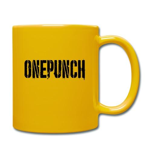 Boxing Boxing Martial Arts mma tshirt one punch - Full Colour Mug