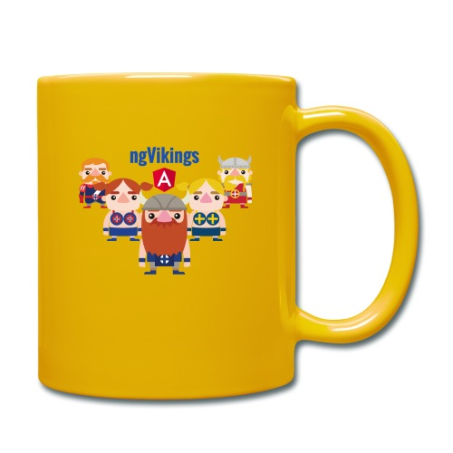 Viking Friends - Full Colour Mug