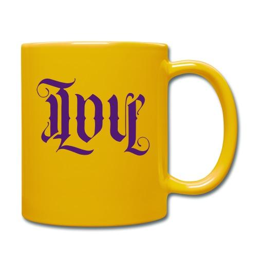 Love and hate - Full Colour Mug