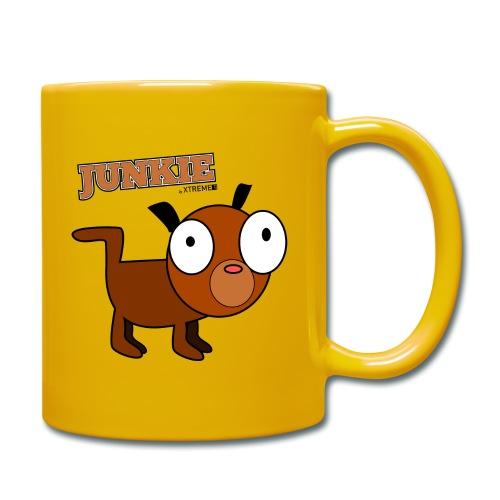 Junkie - Tasse einfarbig
