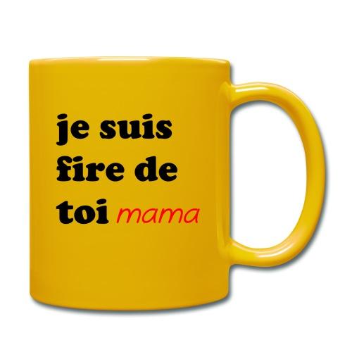 je suis fier de toi mama - Full Colour Mug