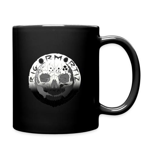 Rigormortiz Black White Design - Full Colour Mug