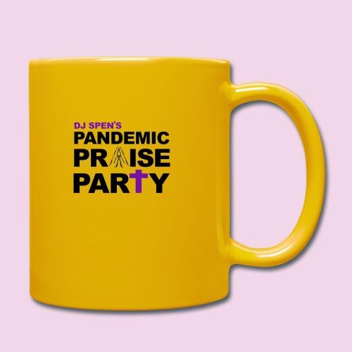 Pandemic Praise Party Logo - Full Colour Mug