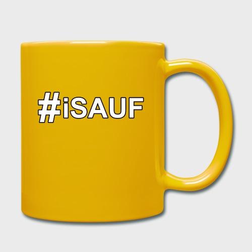 Hashtag iSauf - Tasse einfarbig