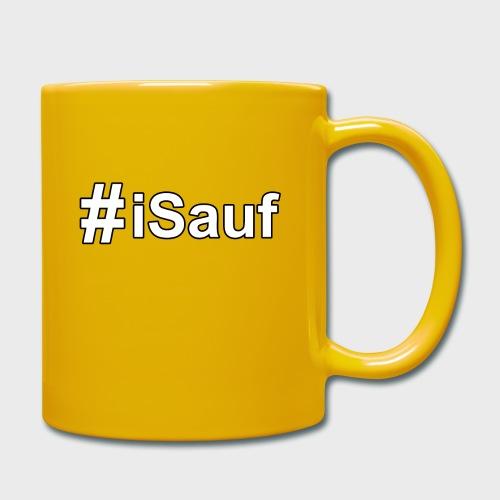 Hashtag iSauf klein - Tasse einfarbig