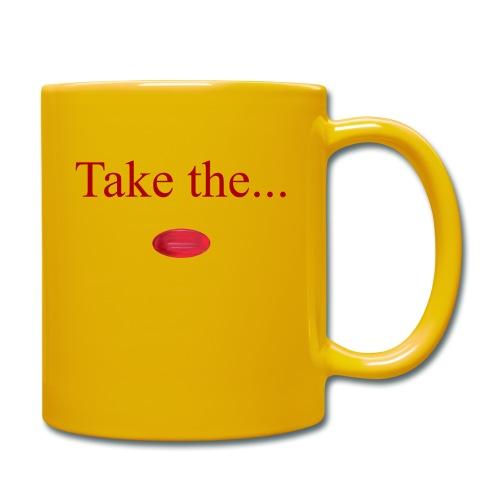 Take The Red Pill - Full Colour Mug