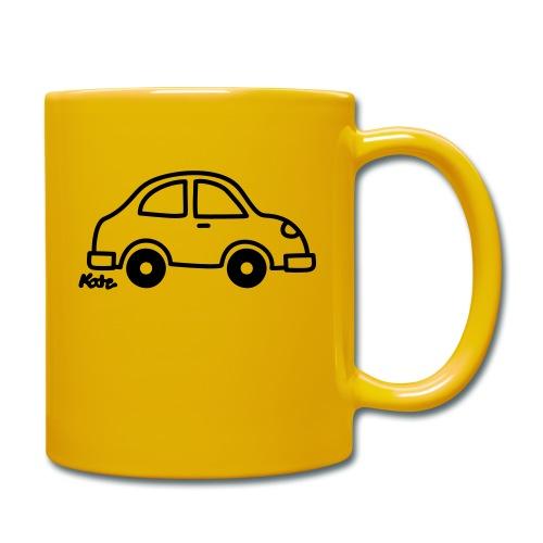 Auto - Tasse einfarbig
