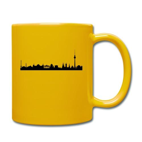 berlin skyline - Tasse einfarbig