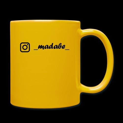 madabe instagram - Tasse einfarbig