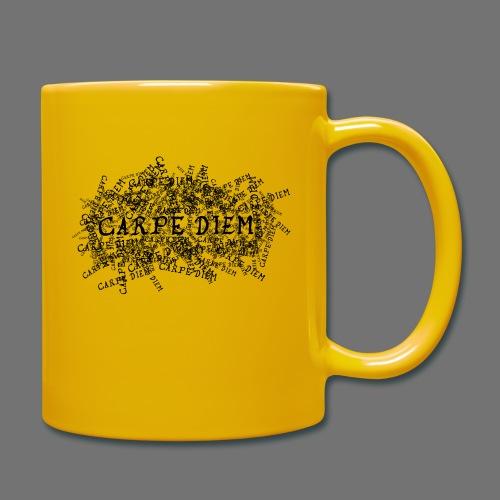 carpe diem (black) - Full Colour Mug