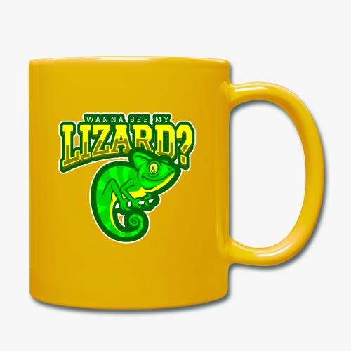 Wanna see Lizard - Yksivärinen muki