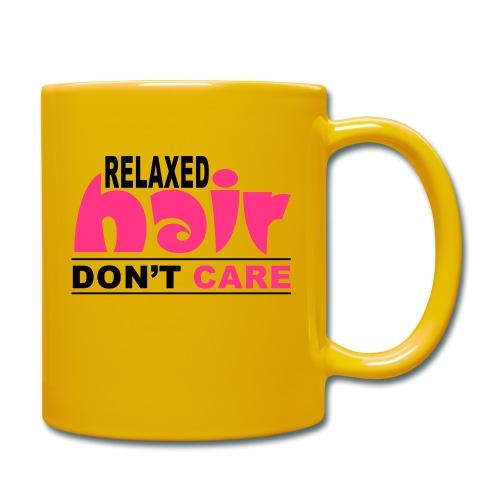 Relaxed Hair Don't Care - Full Colour Mug