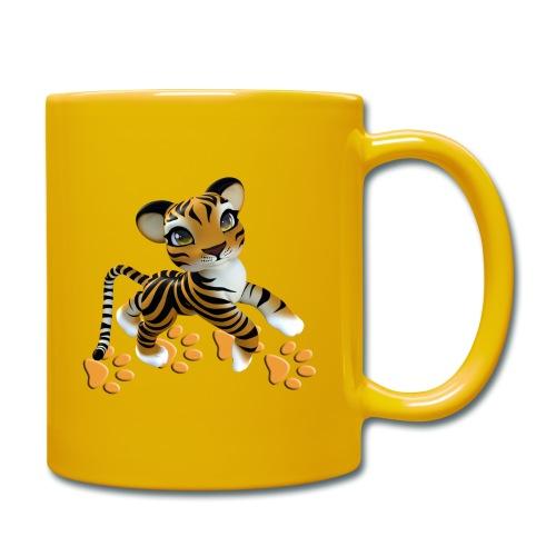 Kleiner Tiger - Tasse einfarbig