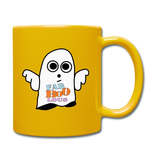 Halloween Geist BOO - Tasse einfarbig