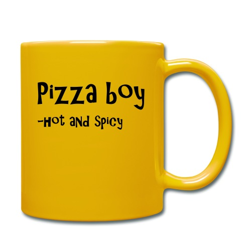 Pizza boy - Ensfarget kopp