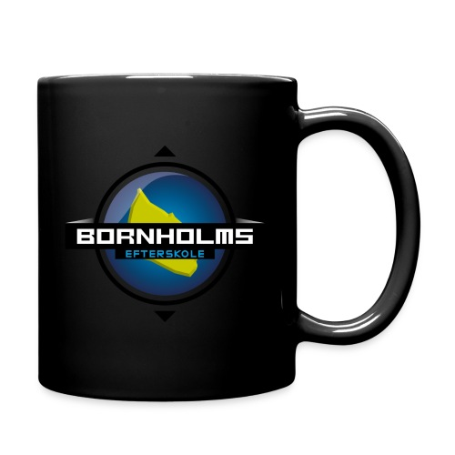 BORNHOLMS_EFTERSKOLE - Ensfarvet krus