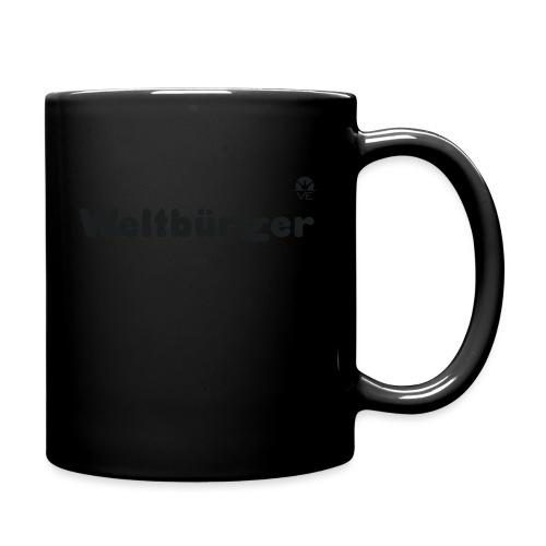 Weltbürger - Tasse einfarbig
