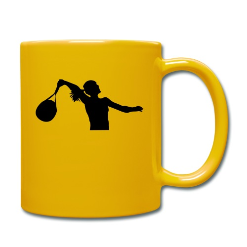 tennis silouhette 6 - Mug uni