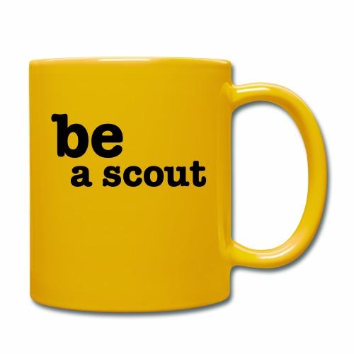 be a scout - Mug uni