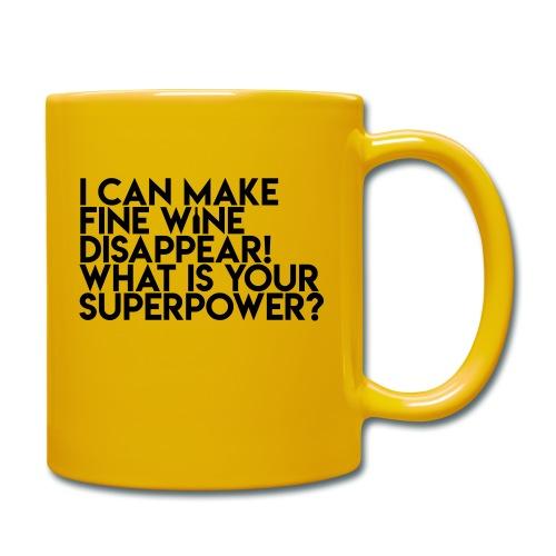 superpower - Ensfarvet krus