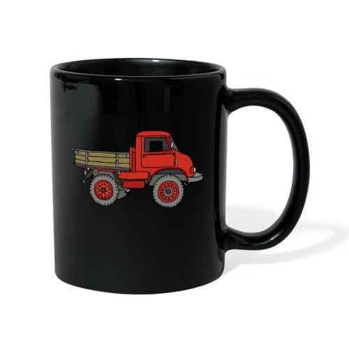Roter Lastwagen, LKW, Laster - Tasse einfarbig